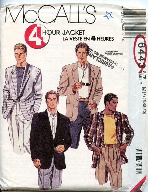 McCalls 6443 jacket