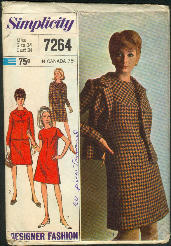 Simplicity 7264 | Vintage Sewing Patterns | FANDOM powered by Wikia