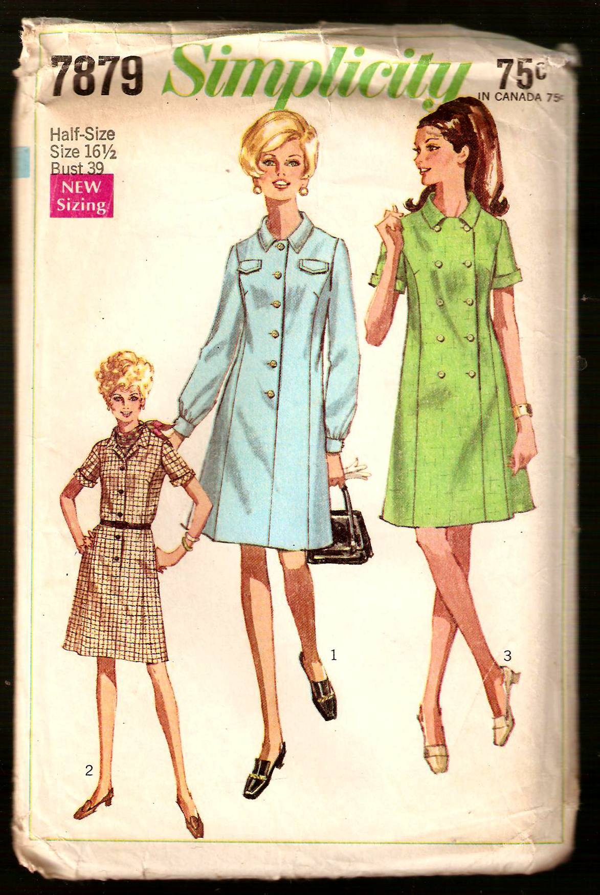 Simplicity 7879 vintage sewing patterns fandom powered by wikia simplicity7879 jeuxipadfo Gallery