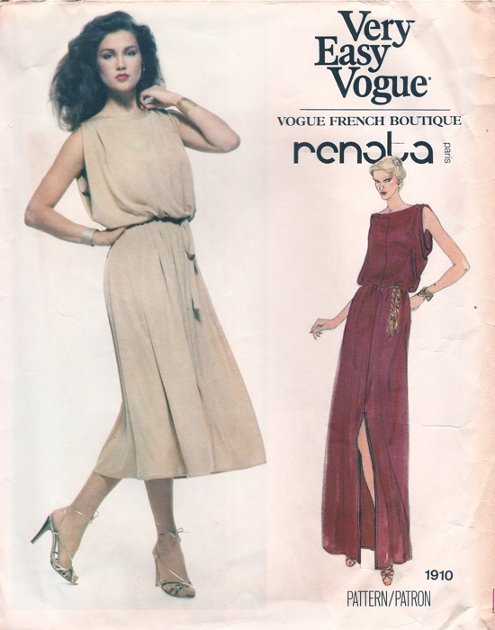 Vogue 1910 A | Vintage Sewing Patterns | FANDOM powered by Wikia