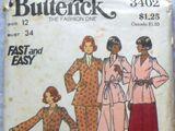 Butterick 3402 B