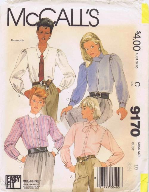 McCalls 1984 9170