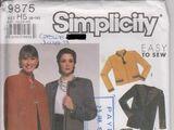 Simplicity 9875 B