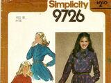 Simplicity 9726 A