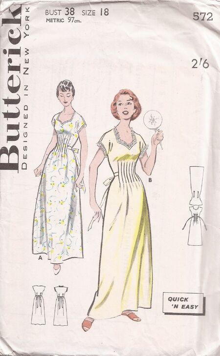 Butterick 572