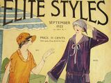 Elite Styles September, 1922