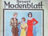 Beyers Modenblatt No. 15 Vol. 9 1930