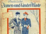 Praktische Damen- und Kinde-Mode No. 26 1935-36