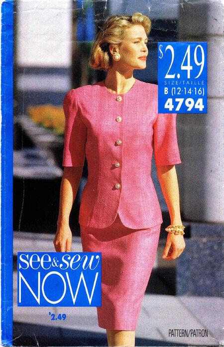 See & Sew 1990 4794