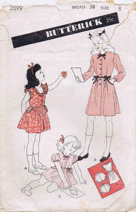 Butterick 1944 2899