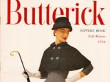 Butterick Pattern Book Fall-Winter 1956