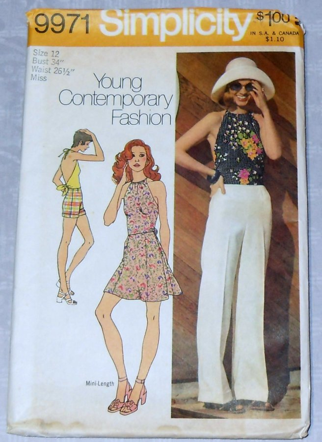Simplicity 9971 | Vintage Sewing Patterns | FANDOM powered by Wikia