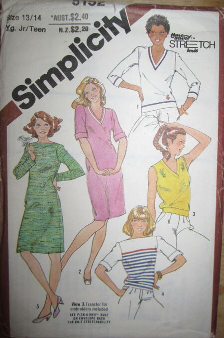Simplicity 5152