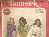 Butterick 6571 A