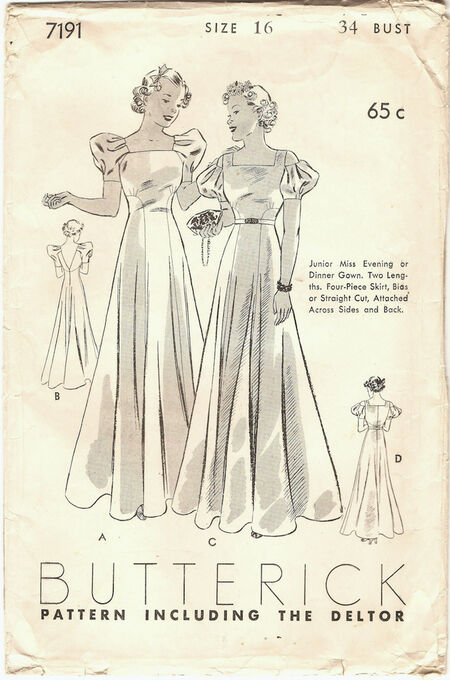 Butterick 7191 front