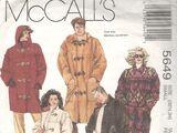 McCall's 5649 A