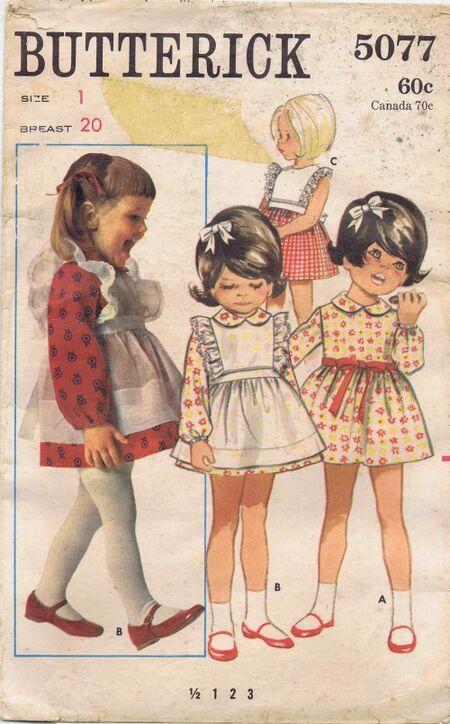 Butterick 1969 5077