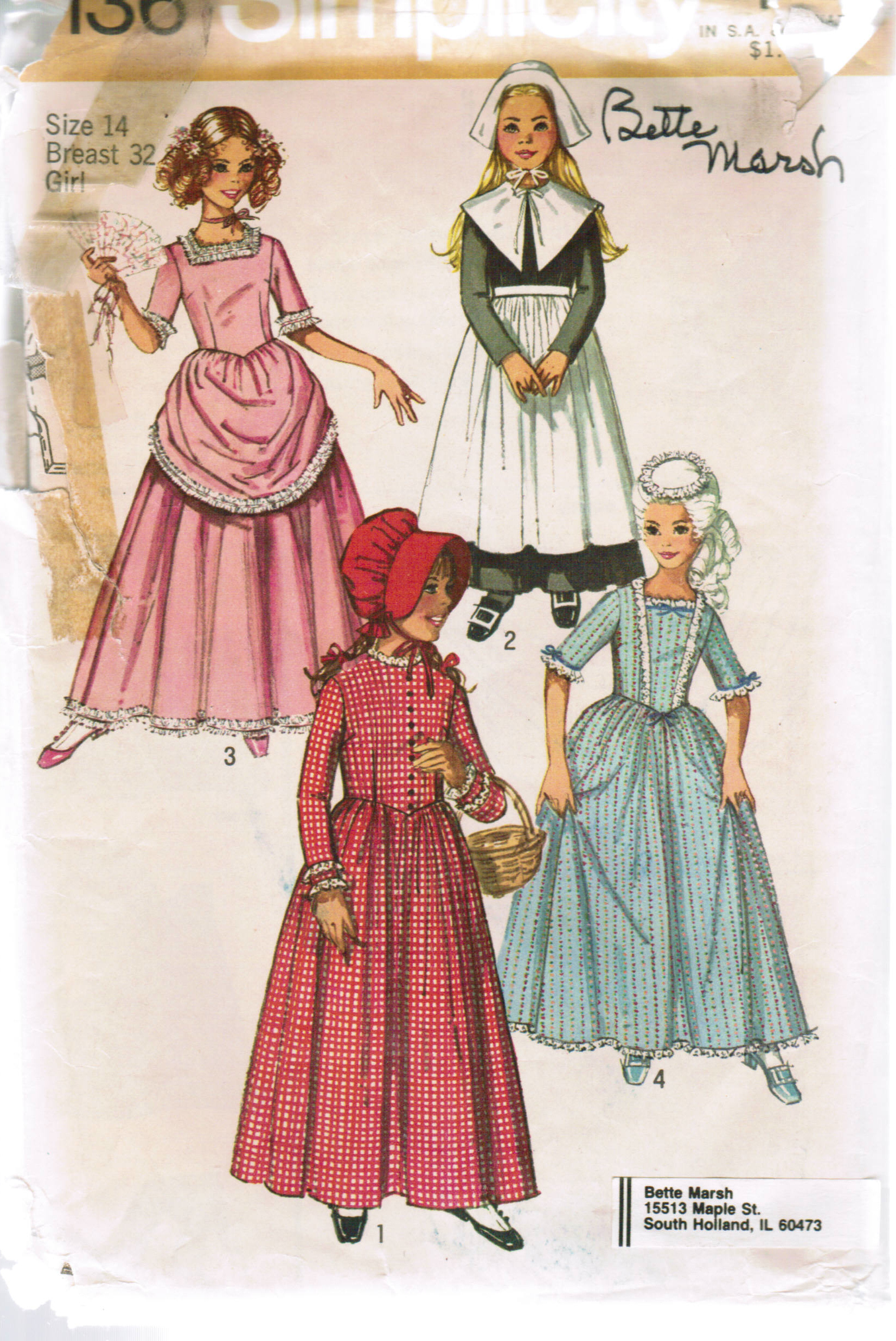 Pilgrim & Simplicity 9136 | Vintage Sewing Patterns | FANDOM powered by Wikia