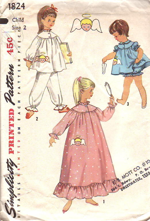 Simplicity 1824 | Vintage Sewing Patterns | FANDOM powered by Wikia
