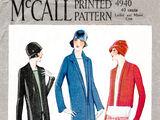 McCall 4940 A