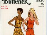 Butterick 5820 A