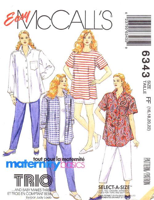 McCalls 1993 6343
