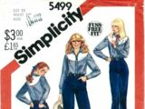 Simplicity 5499 A