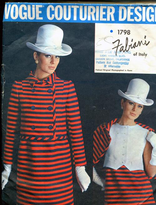 Vogue 1798 Size 10