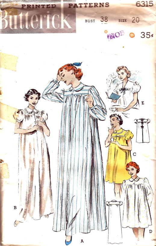 Butterick 6315 | Vintage Sewing Patterns | FANDOM powered by Wikia