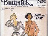 Butterick 5209 C