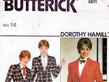 Butterick 4611 C