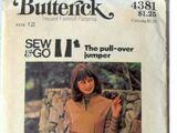 Butterick 4381 B