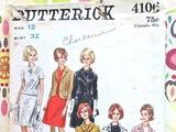 Butterick 4106 A