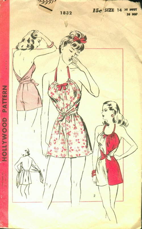 Hollywood 1832 | Vintage Sewing Patterns | FANDOM powered by Wikia