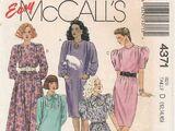 McCall's 4371 A