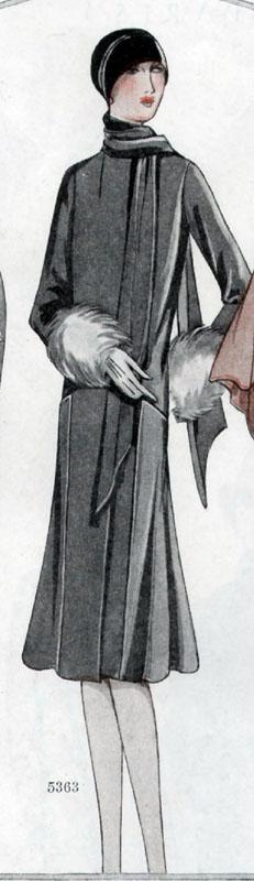 McCall 5363 1928 B
