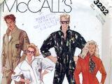 McCall's 3252 B