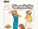 Simplicity 6866 B