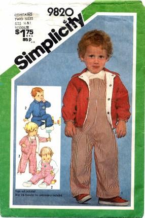 Simplicity 1980 9820