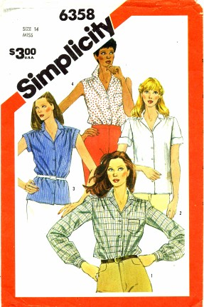 Simplicity 1983 6358