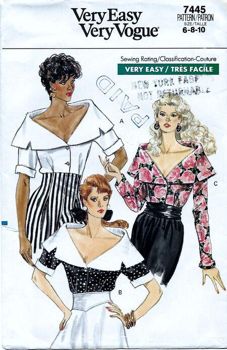 Vogue 7445