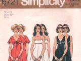 Simplicity 6721