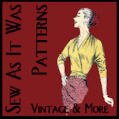 Profile Button - Sew As It Was Patterns - Vintage Pattern Collective