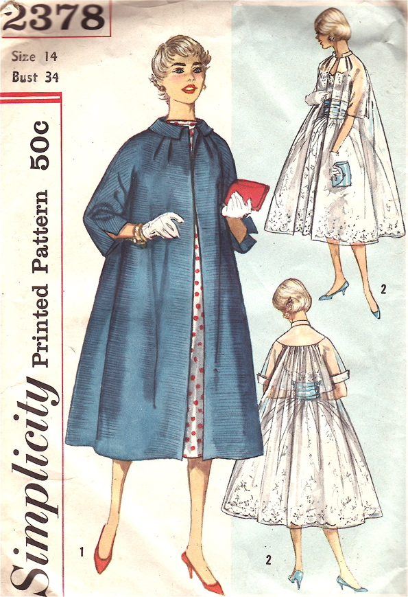 Simplicity 2378 Vintage Sewing Patterns Fandom Powered By Wikia
