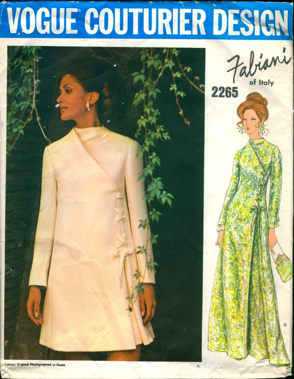 Vogue 2265 | Vintage Sewing Patterns | FANDOM powered by Wikia
