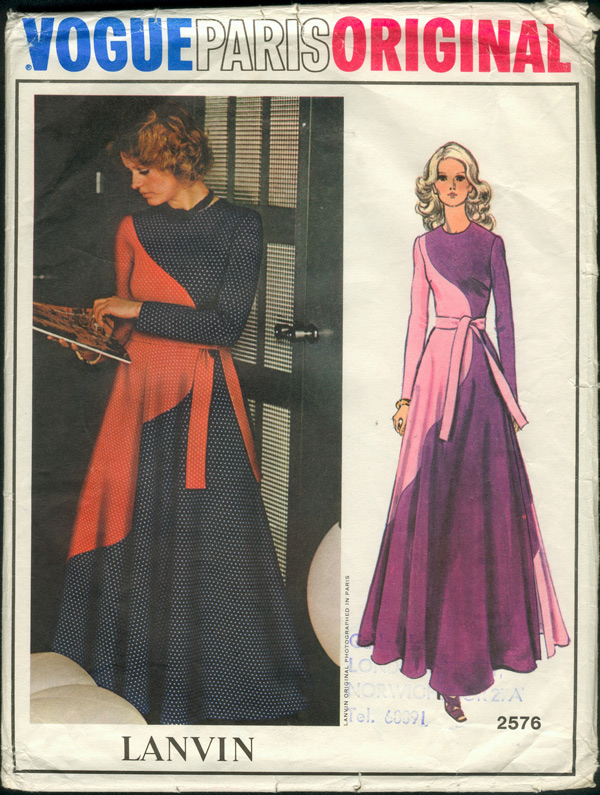 Vogue 2576 | Vintage Sewing Patterns | FANDOM powered by Wikia