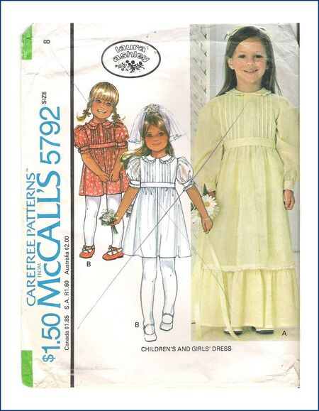 McCall\'s 5792 A | Vintage Sewing Patterns | FANDOM powered by Wikia