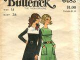 Butterick 6483 A