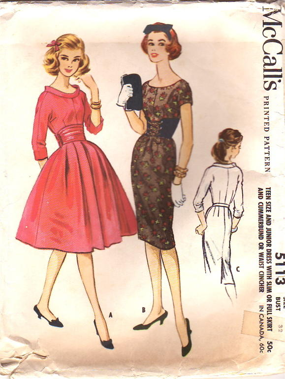 McCall\'s 5113 | Vintage Sewing Patterns | FANDOM powered by Wikia