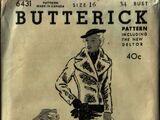 Butterick 6431